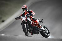 Nicky Hayden rides the 2013 Ducati Hypermotard