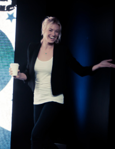 Yvonne Strahovski - Badass Women Panel Nerd HQ Comic-Con in San Diego 7/28/14