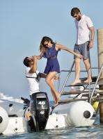 Nina Dobrev with her boyfriend Austin Stowell in Saint-Tropez (July 24) EPCMeLPP
