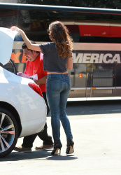 Kelly Brook Wearing Tight Jeans in L.A. - 3/24/15