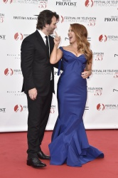 Poppy Montgomery - 55th Monte Carlo TV Festival Opening Ceremony @ Grimaldi Forum in Monte-Carlo - 06/13/15