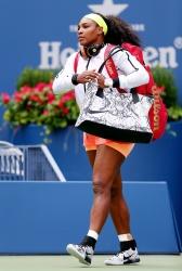 Serena Williams - 2015 US Open Day Three: 2nd Round vs. Kiki Bertens @ BJK National Tennis Center in Flushing Meadows - 09/02/15