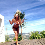 Gatas QB - Raquel Henriques celebra o Bicampeonato