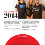 Gatas QB - Rute Penedo e Pierre Louis Costes Hot Magazine Novembro/Dezembro 2013