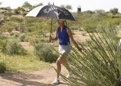 Michelle Wie - 2017 Bank Of Hope Founders Cup Round Two @ Wildfire Golf Club in Phoenix - 03/17/17