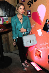 Ashley Benson - Valentine's Day With A Throwback Thurs Bash at Pink Taco in LA 1/31/13