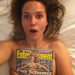 Sophia Bush in Bed With Entertainment Weekly - 4/6/15