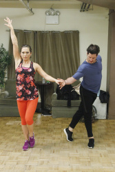 Ginger Zee - Dancing with the Stars Week One