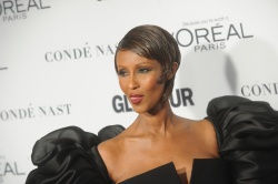 Iman - Glamour's 25th Anniversary Women Of The Year Awards @ Carnegie Hall in NYC - 11/09/15