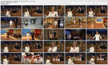 Meredith Vieira - Tonight Show Starring Jimmy Fallon - 9-2-14