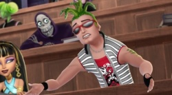 Monster High: Upiorki Rz±dz± / Monster High: Ghouls Rule (2012) PLDUB.DVDRip.XViD-J25 / Dubbing PL +x264 +RMVB