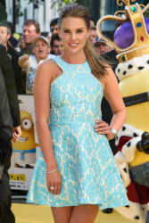 Danielle Lloyd  - Minions Premiere @ Odeon Leicester Square in London - 06/11/15