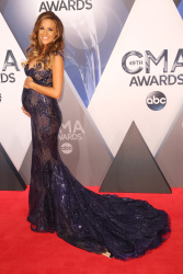 Jana Kramer - 49th Annual CMA Awards @ the Bridgestone Arena in Nashville - 11/04/15