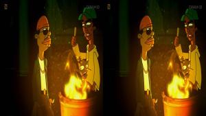 �liski Boogie 3D/ Boogie, el aceitoso 3D (2009) PL.720p.HDTV.x264.Side.by.Side-J25 / Lektor PL