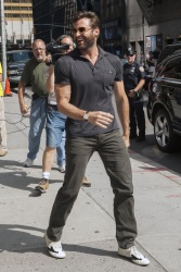 Hugh Jackman – Late Show with David Letterman in NYC July 23, 2013 x
