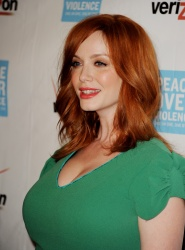 busty christina hendricks