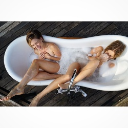 Sophia Bush Taking a Bath - 6/26/15