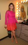 Katharine McPhee in Pink Dress - Live on Kelly and Michael 9/11/2014