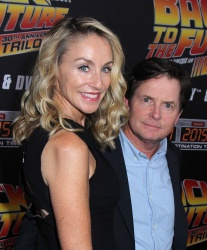 Tracy Pollan - Back To The Future New York Special Anniversary Screening @ AMC Loews Lincoln Square in NYC - 10/21/15