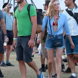Diane Kruger & Nina Dobrev - Coachella Weekend 2 Day 2 4/18/15