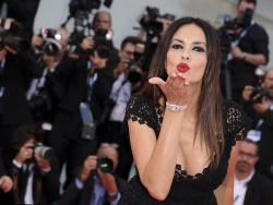Maria Grazia Cucinotta - 72nd Venice Film Festival Opening Ceremony and Everest Premiere in Venice - 09/02/15