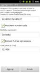 Carta Prepagata v3.13 APK download @ http://www.aleandroid.com