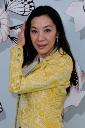 Michelle Yeoh - Paris Fashion Week: Schiaparelli Haute Couture S/S 2016 Fashion Show in Paris - 01/25/16