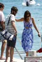 Nina Dobrev with her boyfriend Austin Stowell in Saint-Tropez (July 24) Sm2KrcX0