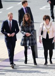 Catherine, Duchess of Cambridge - at Emirates Arena in Glasgow 4/4/13