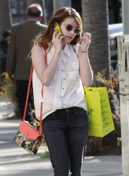 Emma Roberts - out in Beverly Hills 4/8/13