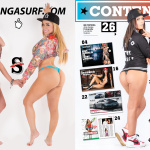Ania Gadea Surf Julio Agosto 2017 | the4um.com.mx