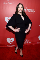 Kat Dennings at MusiCares 2015 Person Of The Year Gala in Los Angeles - February 6, 2015
