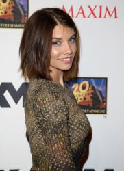 Lauren Cohan - Maxim, FX And Fox Home Entertainment Comic-Con Party in San Diego - 07/19/13