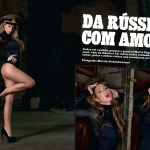 Gatas QB - Marta Engelbrecht Frontal Mag (Revista Frontal) Dezembro 2013