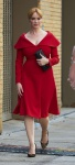 Christina Hendricks - arriving at New York Fashion Week in NYC 9/10/16