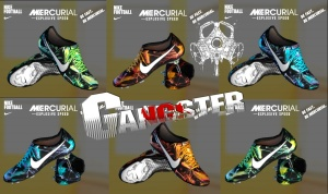 Download PES 2013 PACK-NIKE MERCURIAL TROPICAL Boots by SGangster