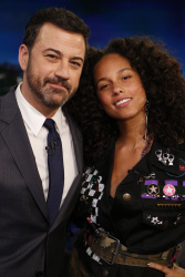 Alicia Keys - Jimmy Kimmel Live: February 9th 2017