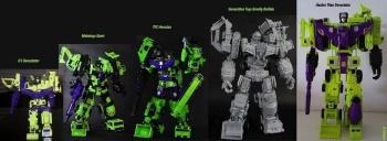 [Generation Toy] Produit Tiers - Jouet GT-01 Gravity Builder - aka Devastator/Dévastateur 71qpoZtL