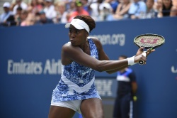 Venus Williams - 2015 US Open Day Five: 3rd Round vs. Belinda Bencic @ BJK National Tennis Center in Flushing Meadows - 09/04/15