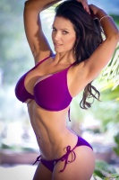 Дениз Милани, фото 5693. Denise Milani Purple Bikini 2012 :, foto 5693