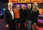 Taylor Swift - Short Skirt, Boots - The Graham Norton Show 02.22.2013