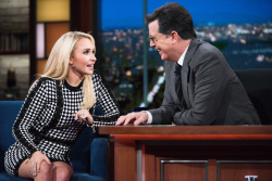 Hayden Panettiere - The Late Show with Stephen Colbert: January 6th 2017