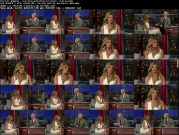 Erin Andrews - Late Show with David Letterman - 3-10-14