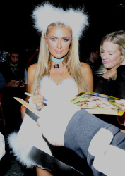 Paris Hilton - Halloween Party at 1OAK in West Hollywood October 30 2014