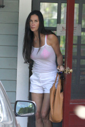 demi moore see trough tank top