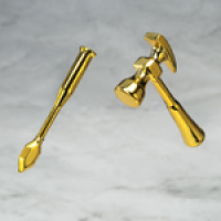 Aries Mu Gold Cloth Adw6Hv3T