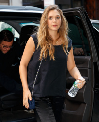Elizabeth Olsen - Out and about in NYC 8/1/17