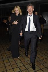 Sean Penn - Charlize Theron and Sean Penn - seen leaving Royal Festival Hall. London - February 16, 2015 (153xHQ) V9XaI1lO