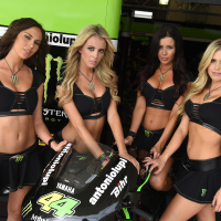 Tech3 Yamaha MotoGP grid girls