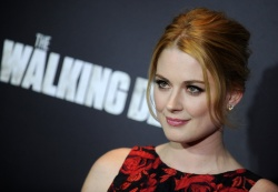Alexandra Breckenridge - The Walking Dead Season Six Premiere @ Madison Square Garden in NYC - 10/09/15